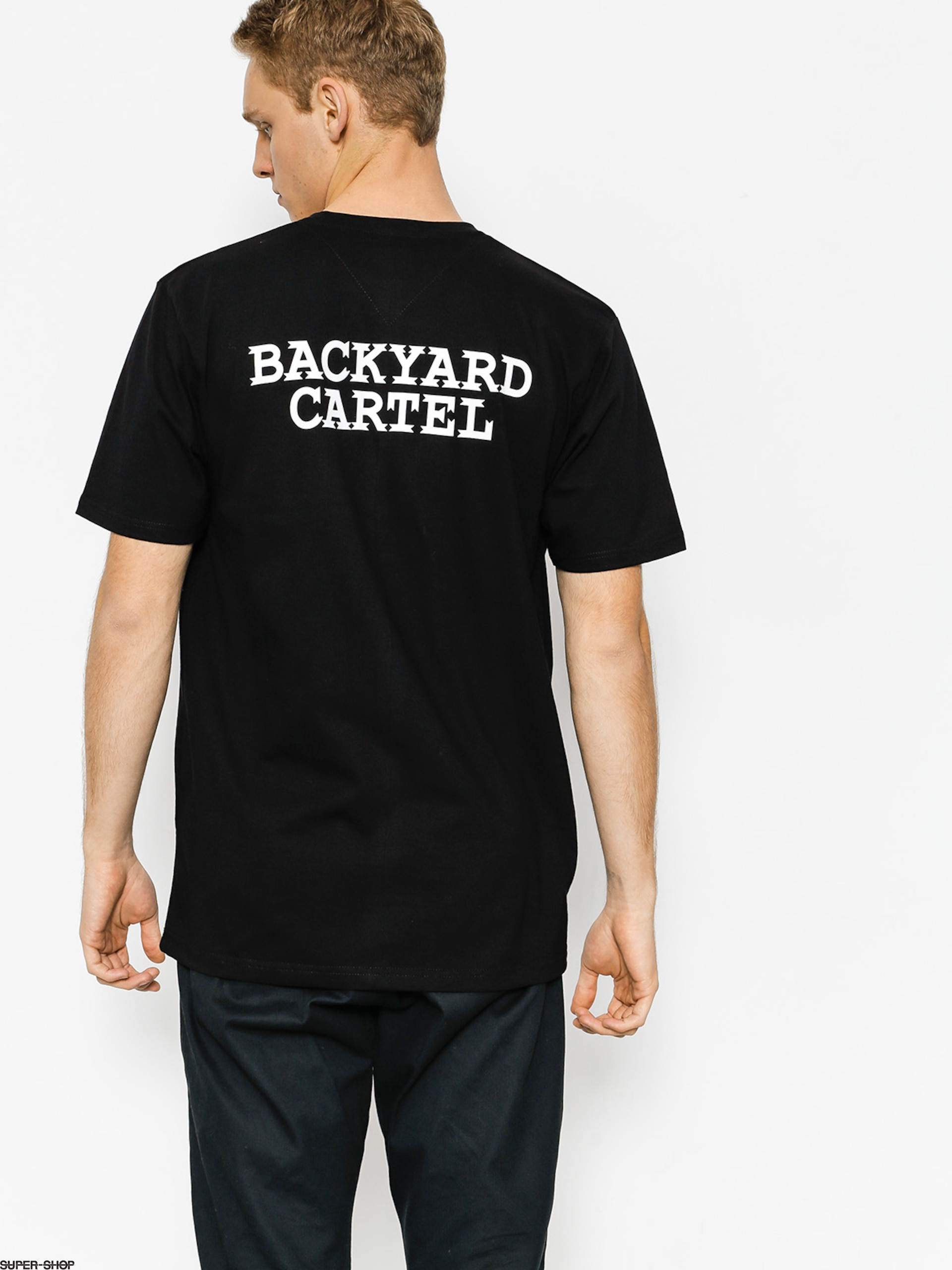 Backyard Cartel T-shirt Back Label