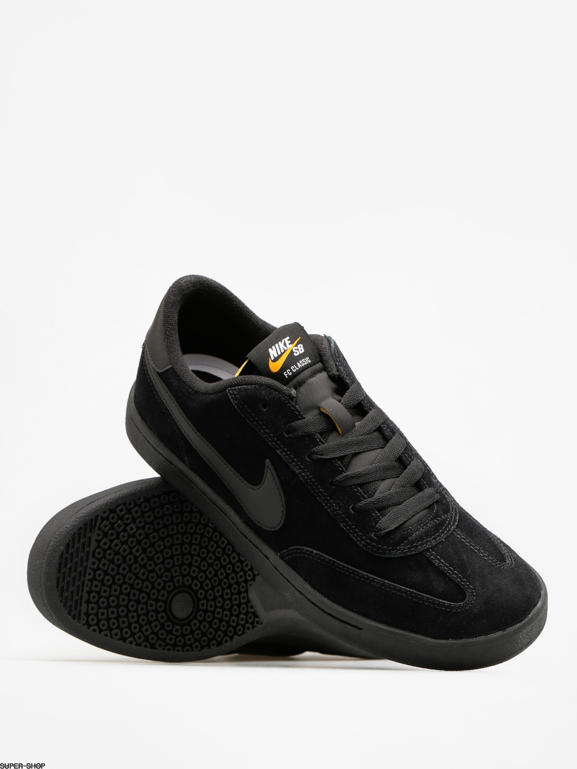 c106726c7796 Nike SB Shoes Sb Fc Classic (black black black vivid orange)
