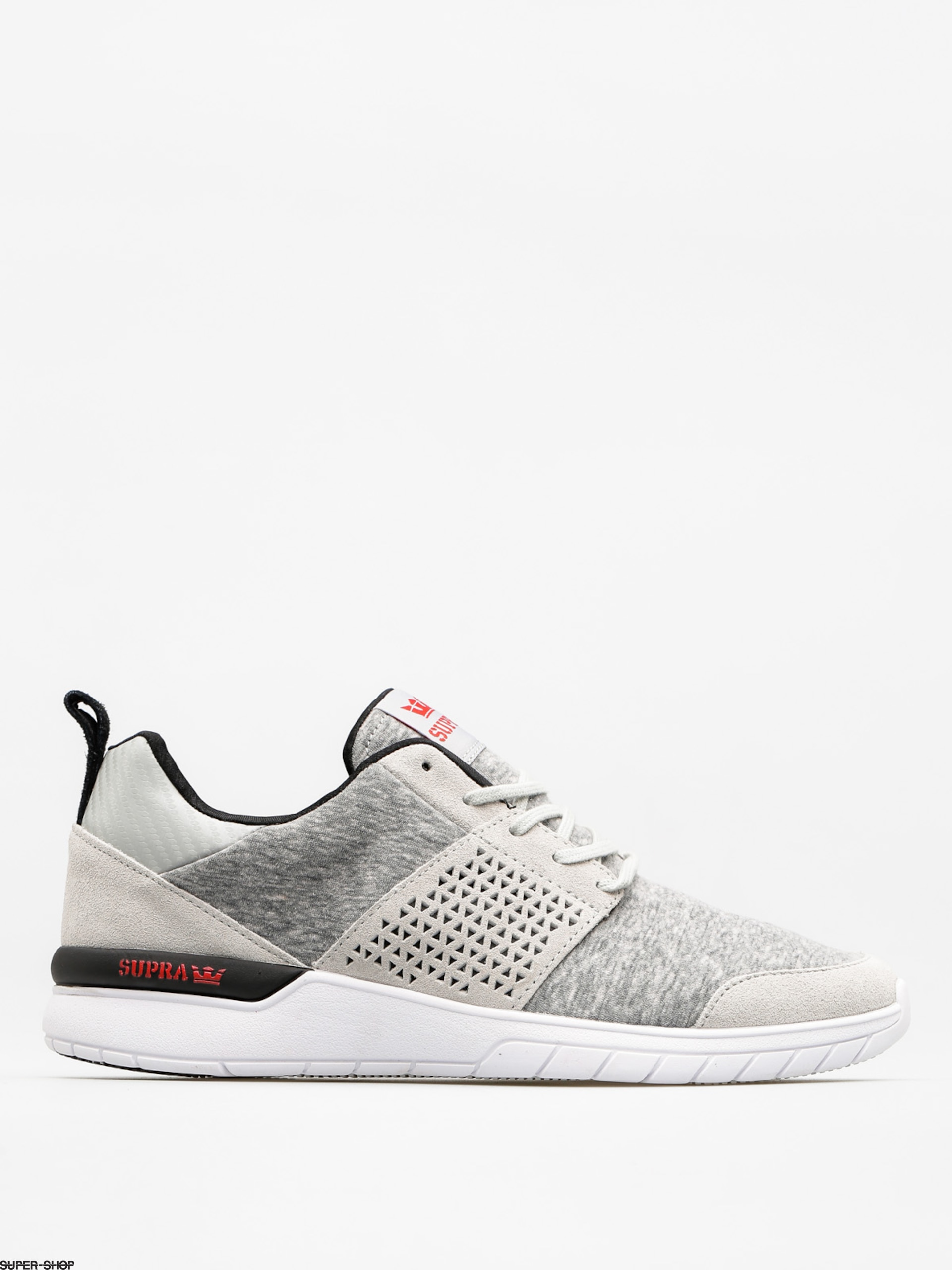Supra Schuhe Scissor (lt grey red)