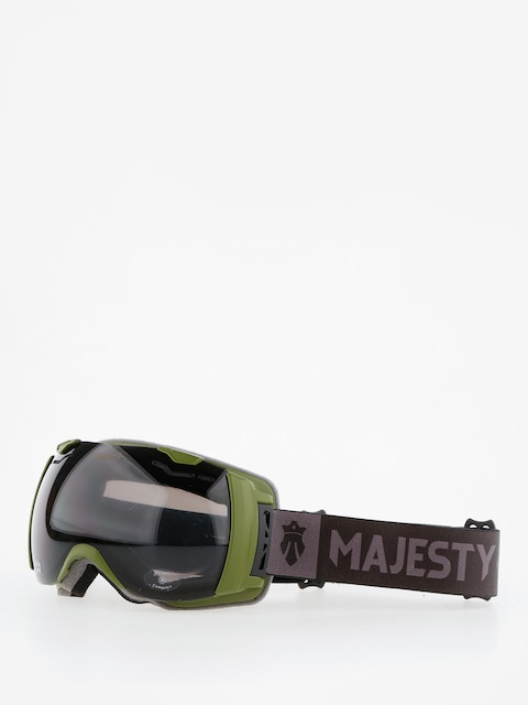 Majesty Goggles Spectrum (army green/black pearl/clear citrine)