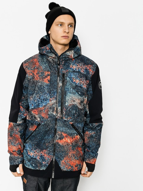 Quiksilver Snowboard jacket Travis Rice Stretch (marine iguana real)