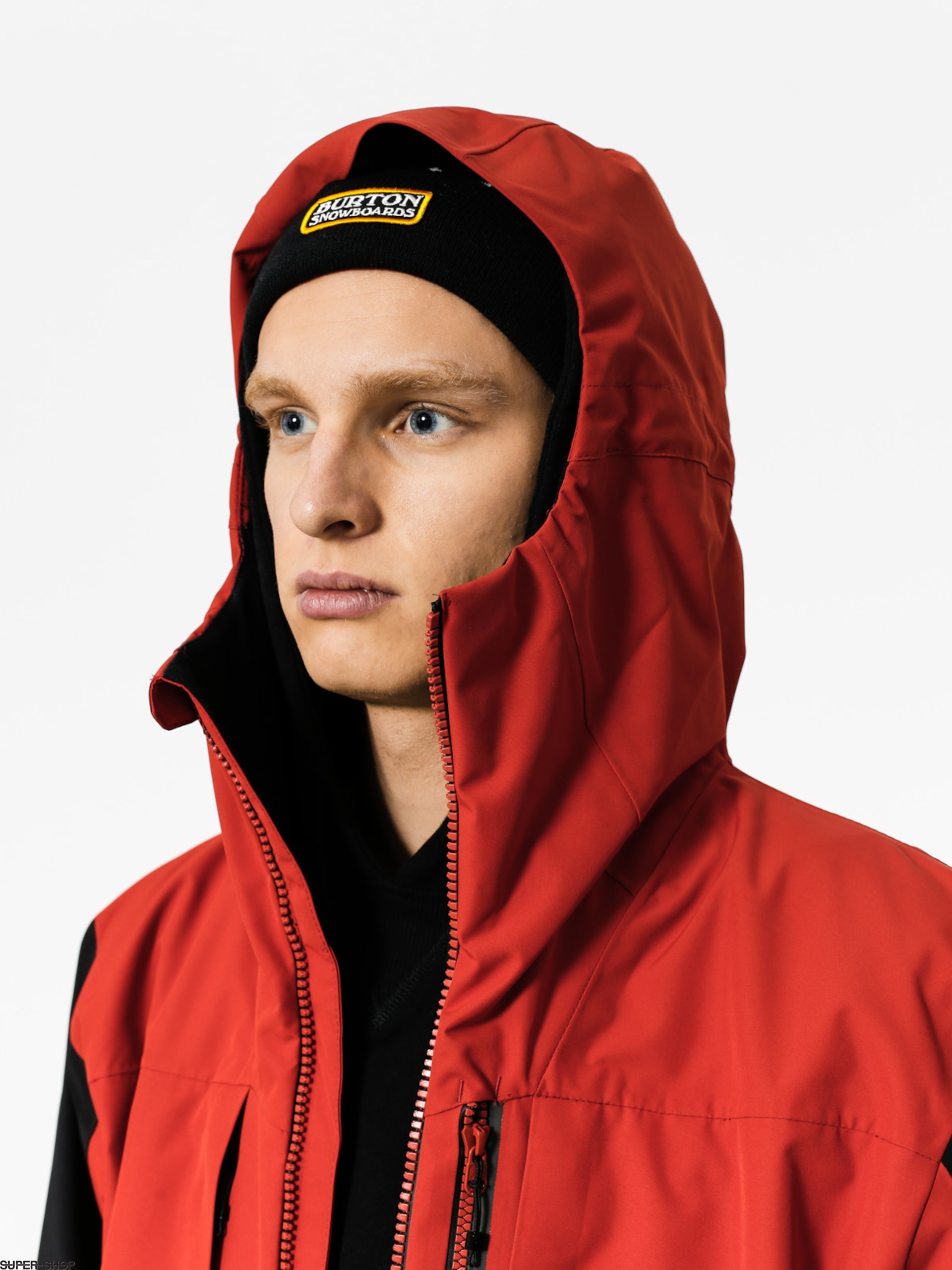 Quiksilver Travis Rice Stretch Snow Jacket Ketchup Red