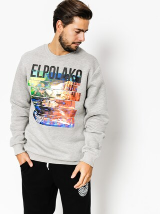 El Polako Sweatshirt Gramofon (grey heather)