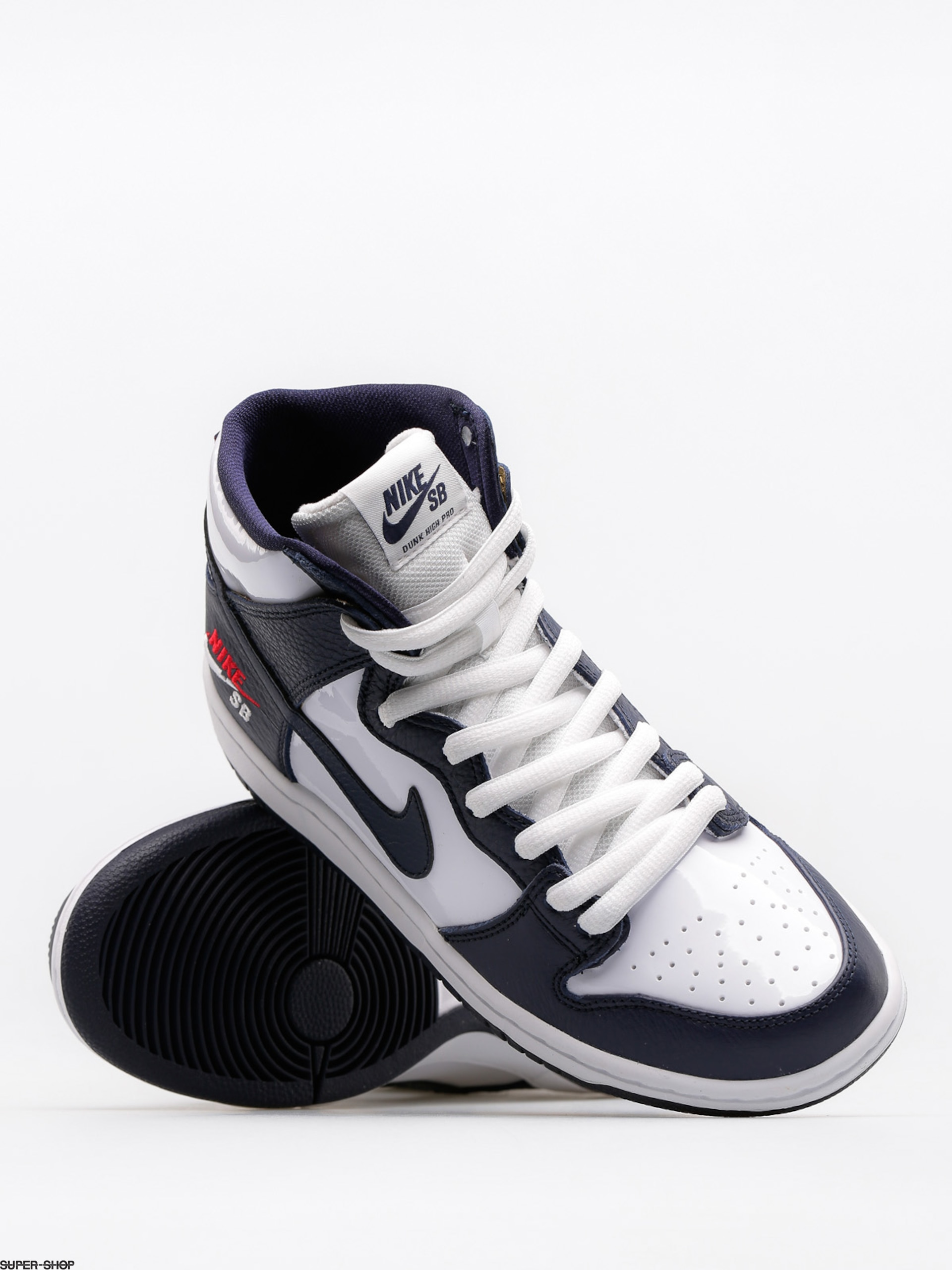 outlet store 2da17 1b2d0 Nike SB Shoes Sb Zoom Dunk High Pro (obsidian/obsidian white university red)