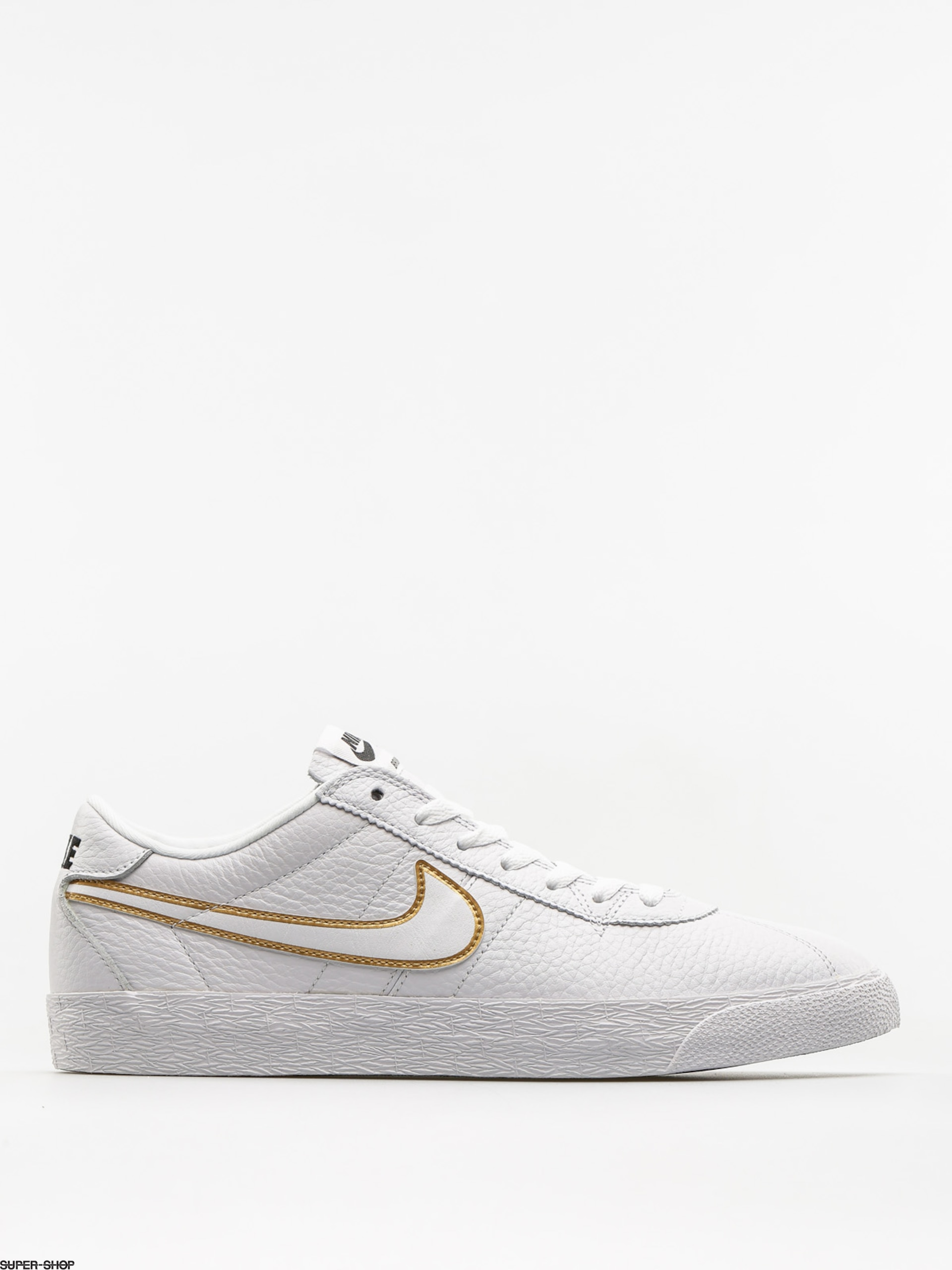 low priced 4e3b5 fd9d0 Nike SB Shoes Sb Zoom Bruin Premium Se (white white metallic gold black)