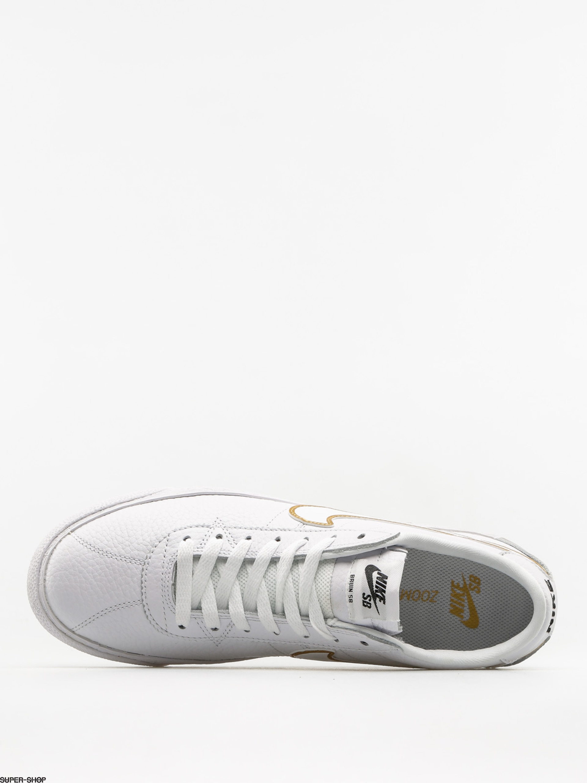 low priced af497 d9ea2 Nike SB Shoes Sb Zoom Bruin Premium Se (white white metallic gold black)