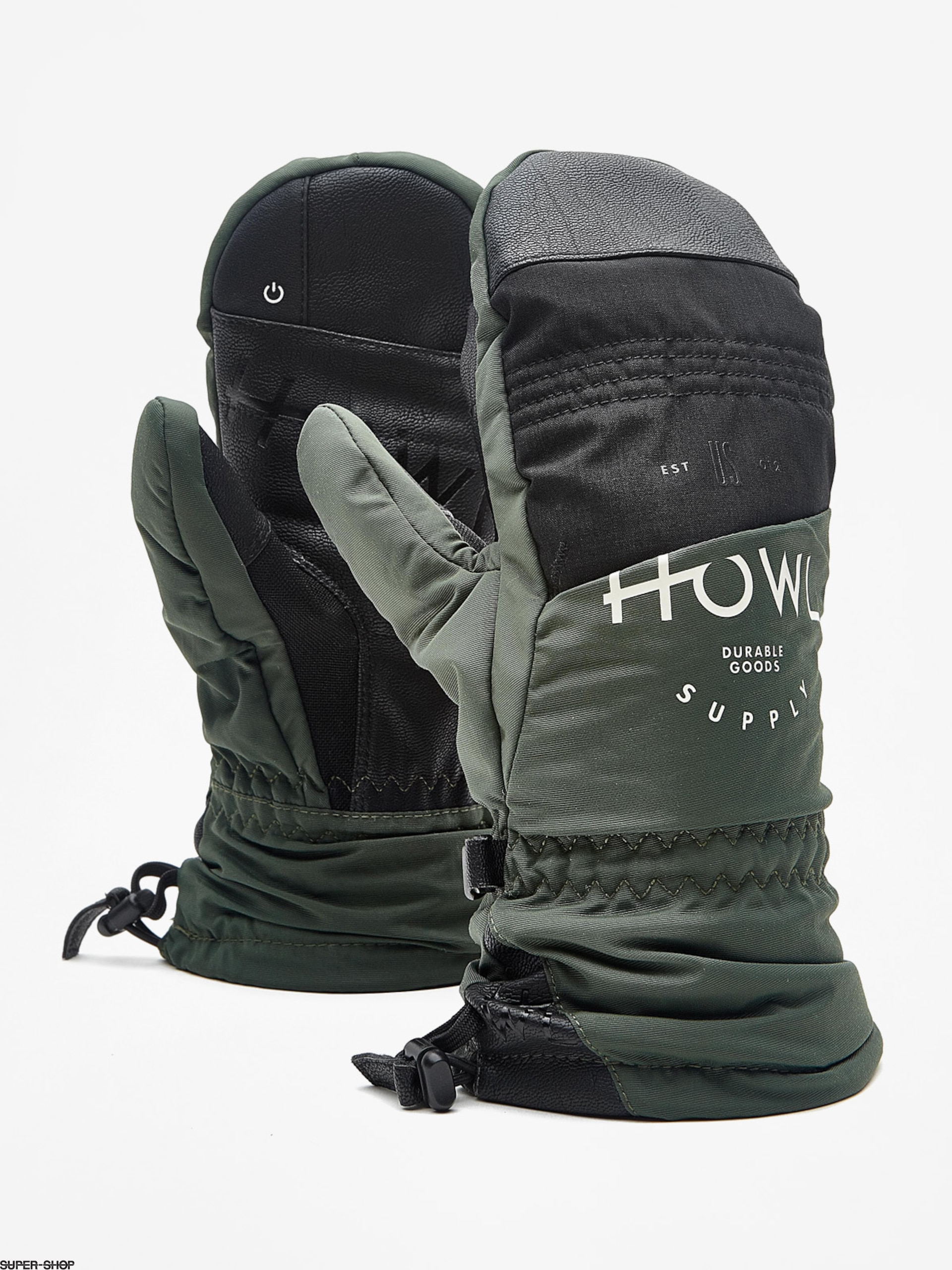 Howl Gloves Team Mitt (green)