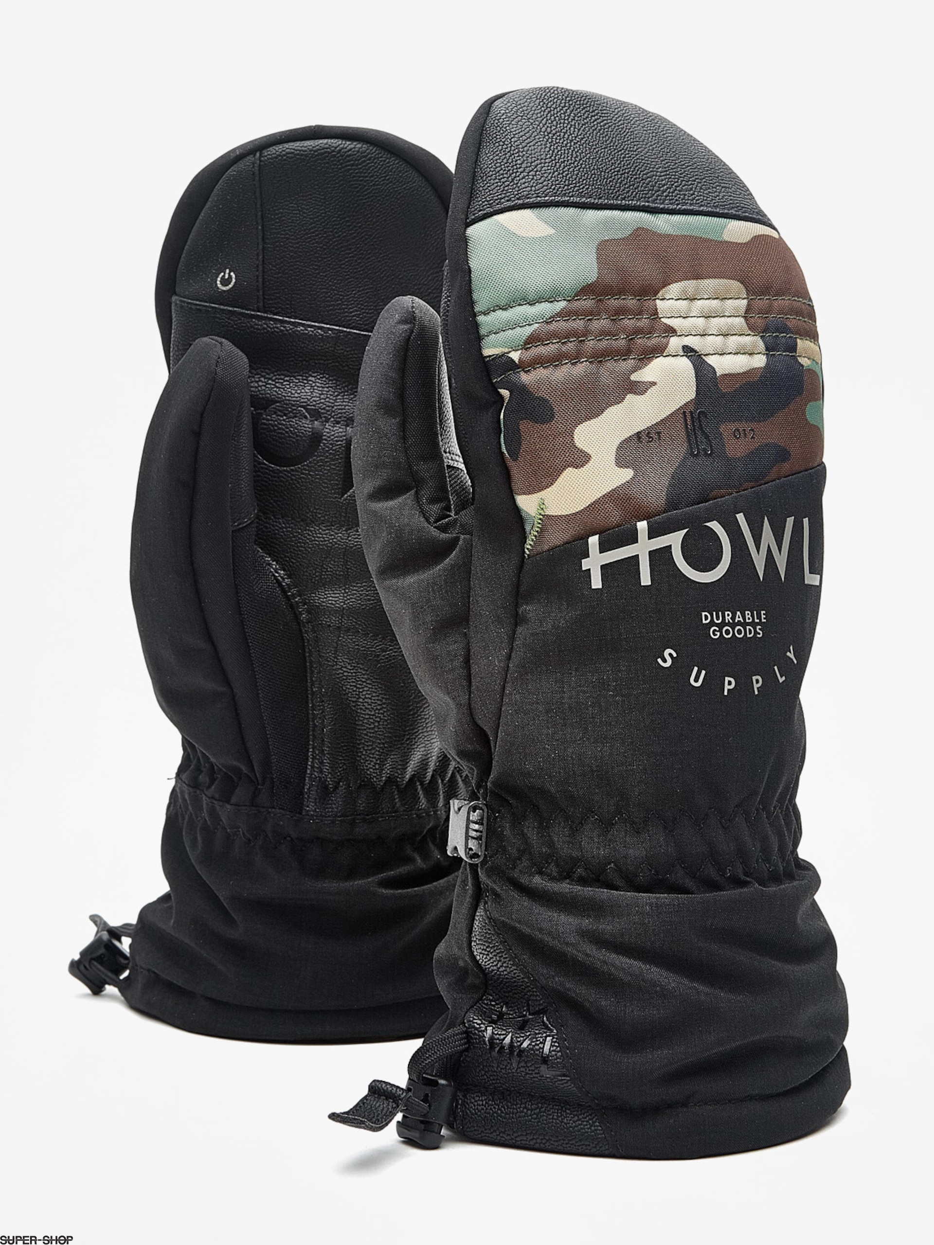 Howl Gloves Team Mitt (black)