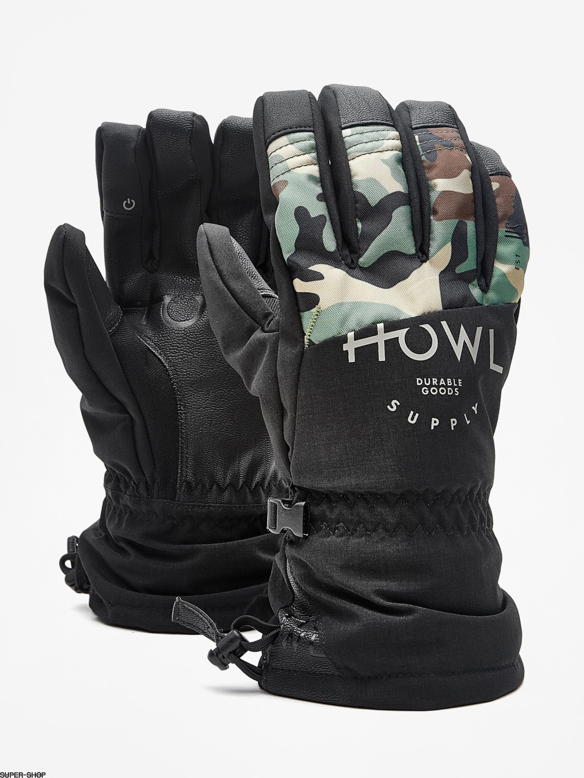 Howl Gloves Team Glove (black)