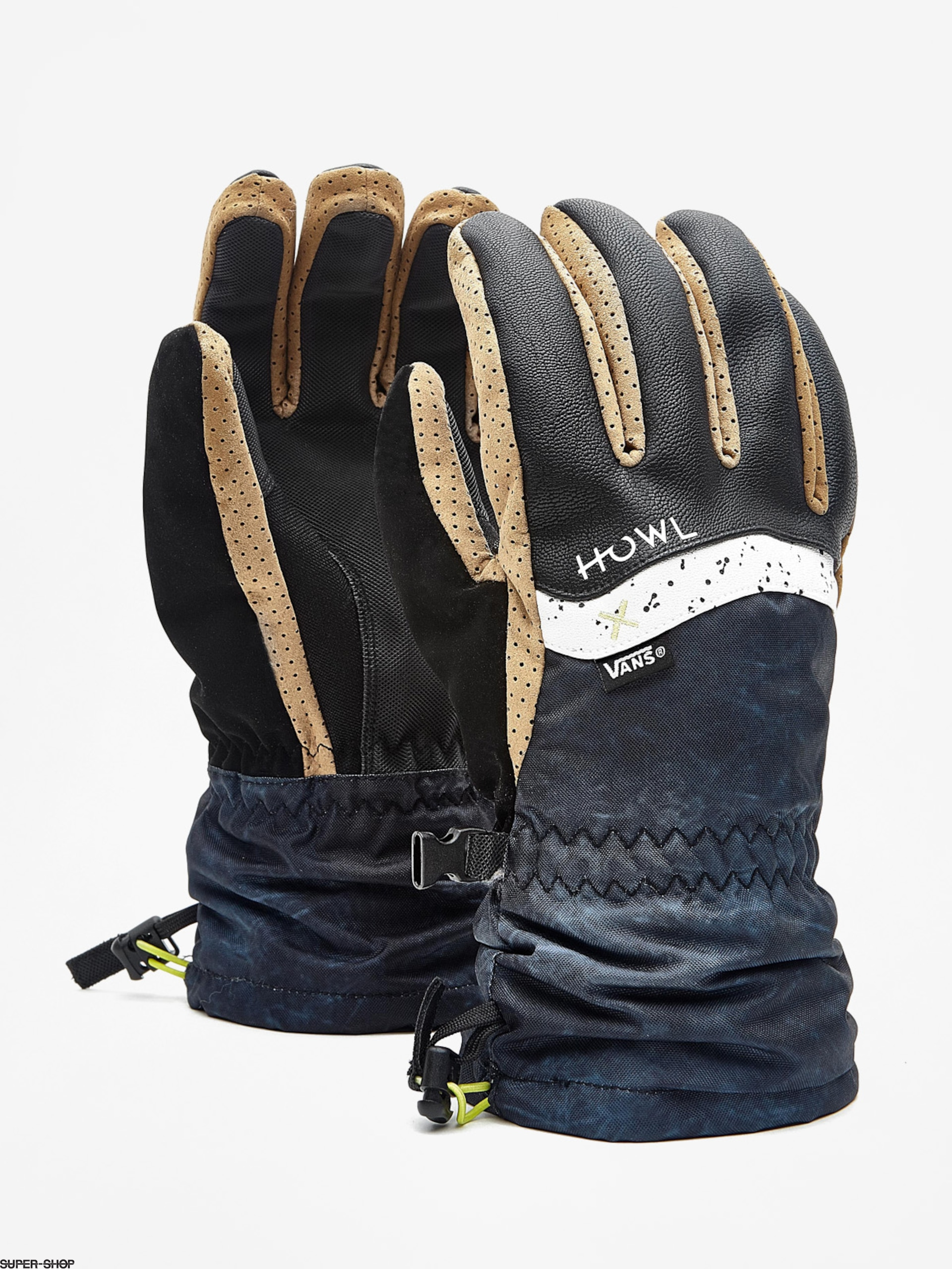 Howl  x Vans Gloves (black)