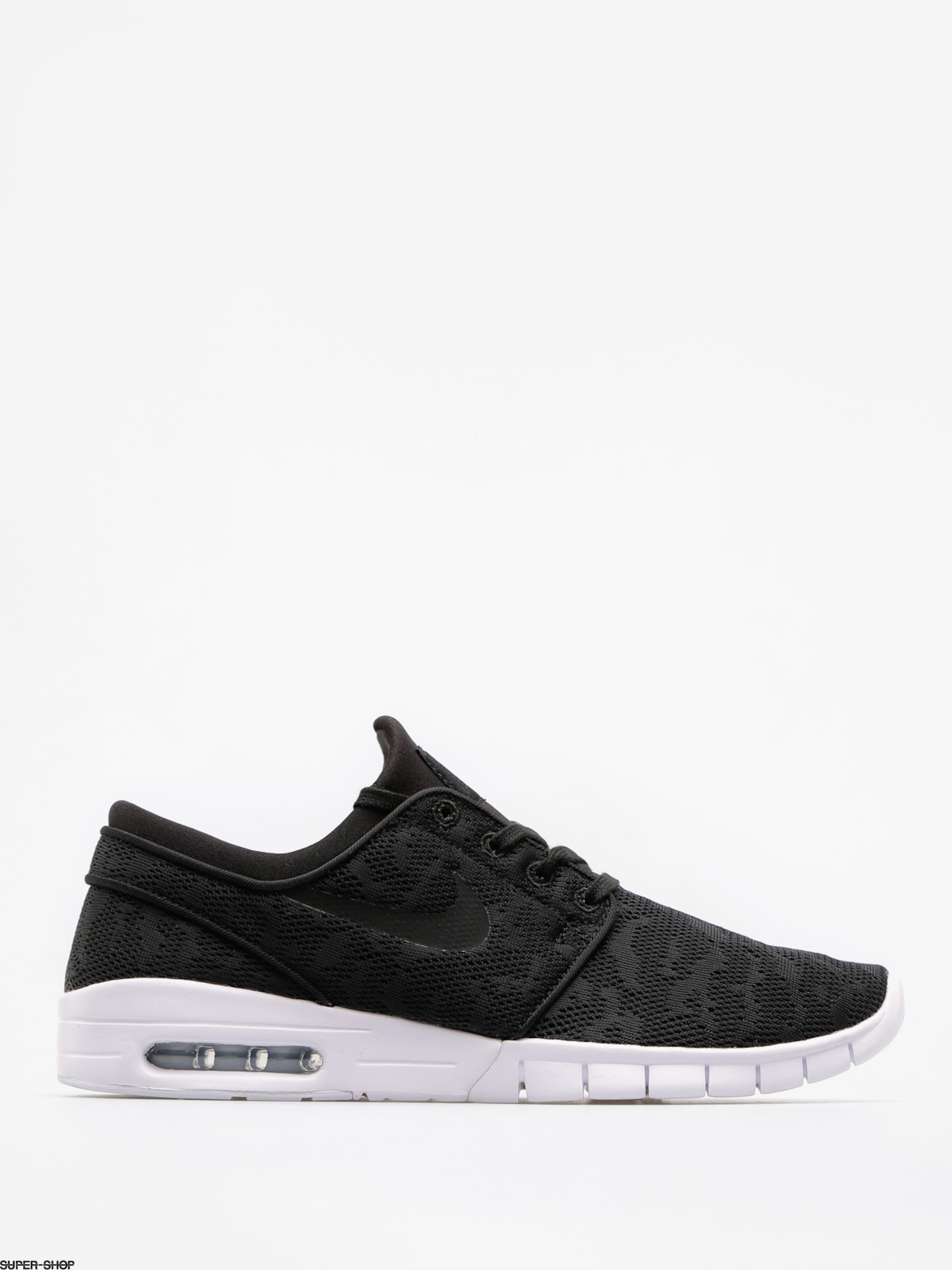 new collection 100% quality official photos Nike SB Schuhe Stefan Janoski Max (black/black white)