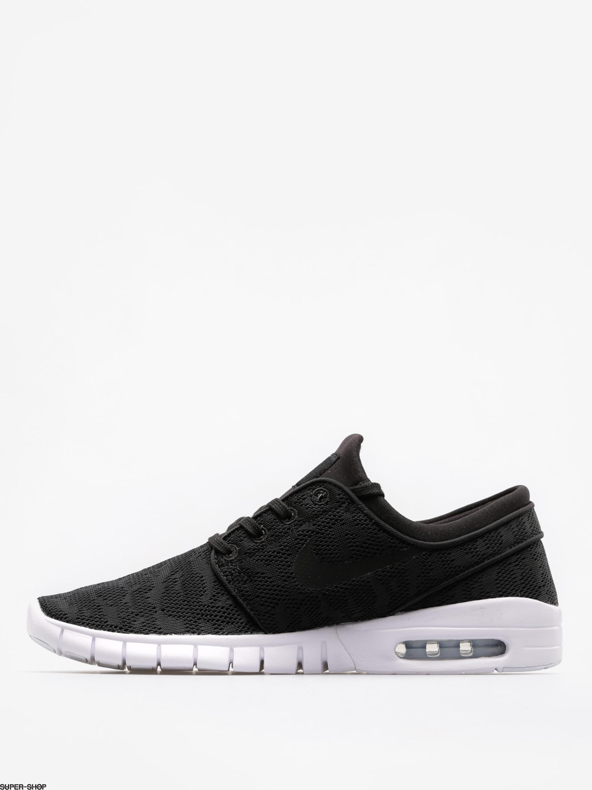 Nike SB Shoes Stefan Janoski Max (black