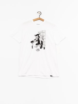 Etnies T-shirt Tuff Cat (white)