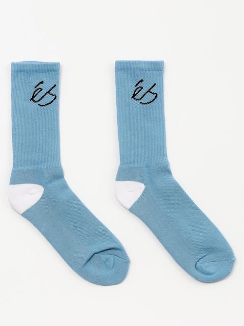 Es Socken Script (light blue)