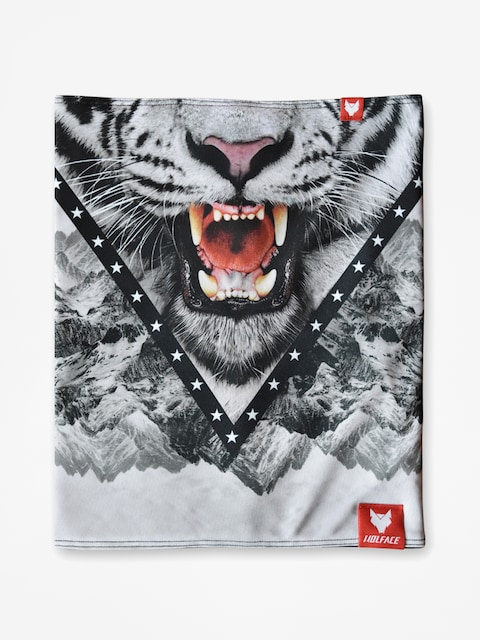 Wolface Neckwarmer Snow Tiger