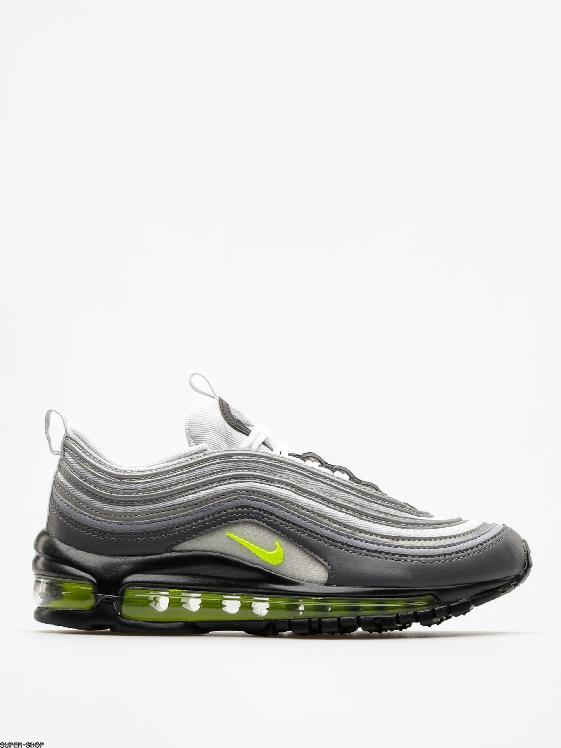 Nike Shoes Air Max 97 Wmn (dark grey/volt stealth pure platinum)