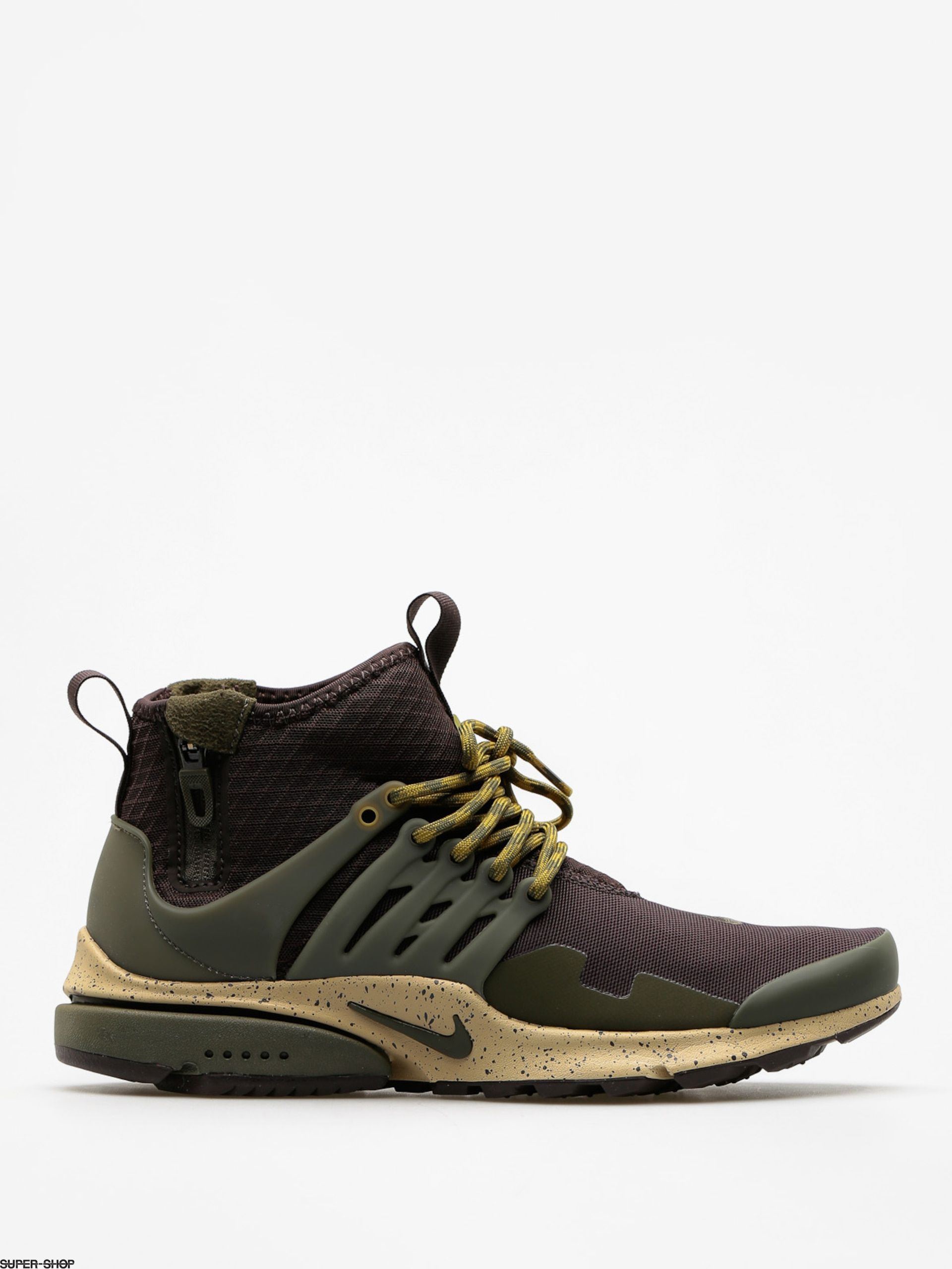 Nike Shoes Air Presto Utility Mid Top (velvet brown/cargo khaki mushroom)