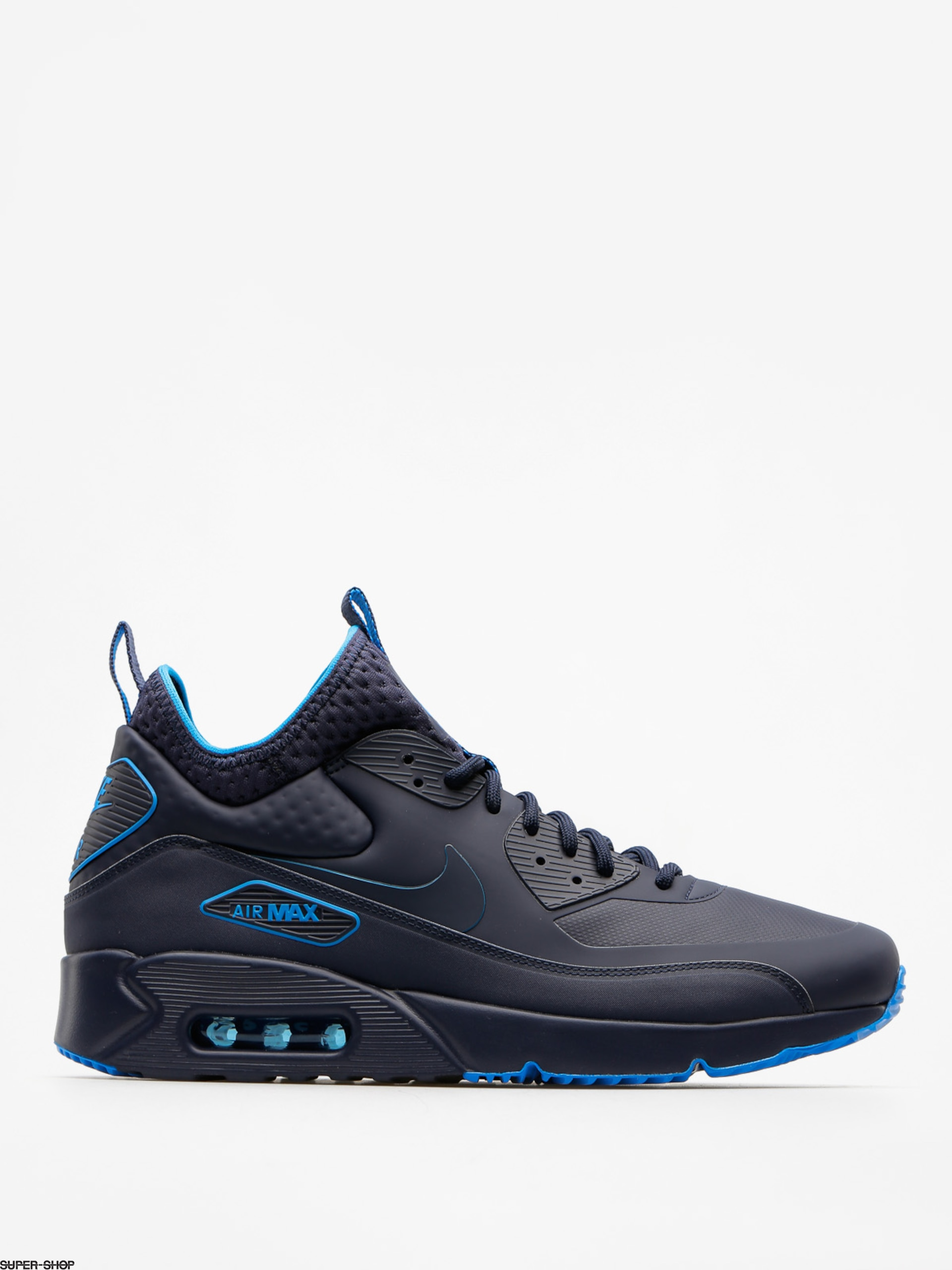 Nike Shoes Air Max 90 Ultra Mid Winter Se (obsidian/obsidian thunder blue)