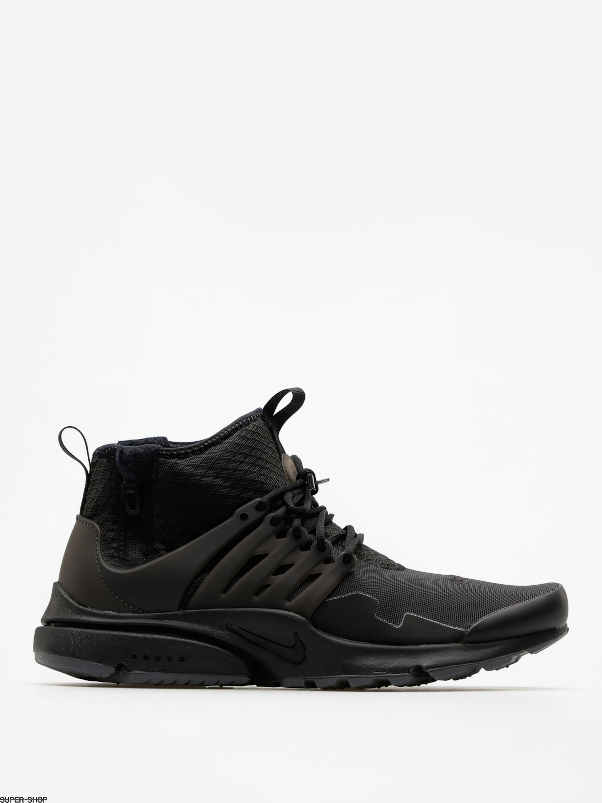 Nike Shoes Air Presto Utility Mid Top (black/black dark grey)