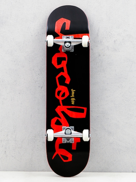 Chocolate Skateboard Hsu Classic (black/red)
