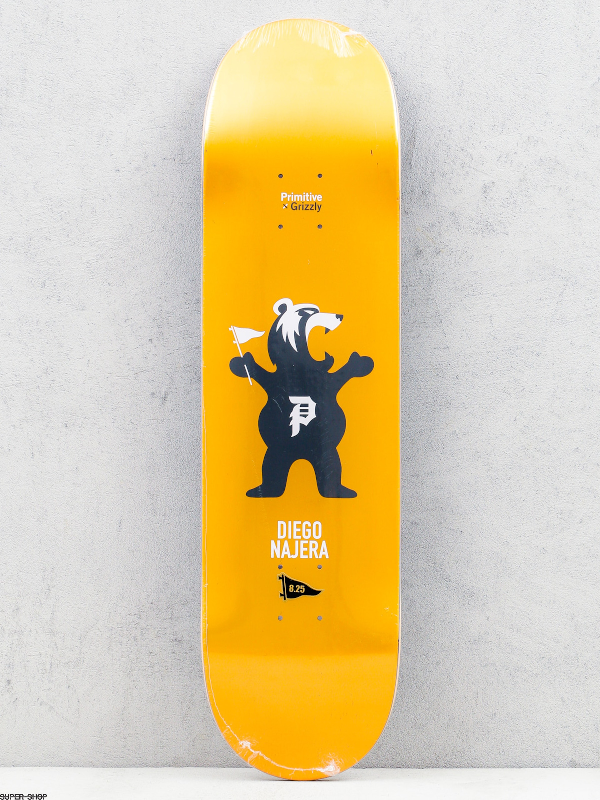 Primitive Deck x Grizzly Najera Mascot (gold)