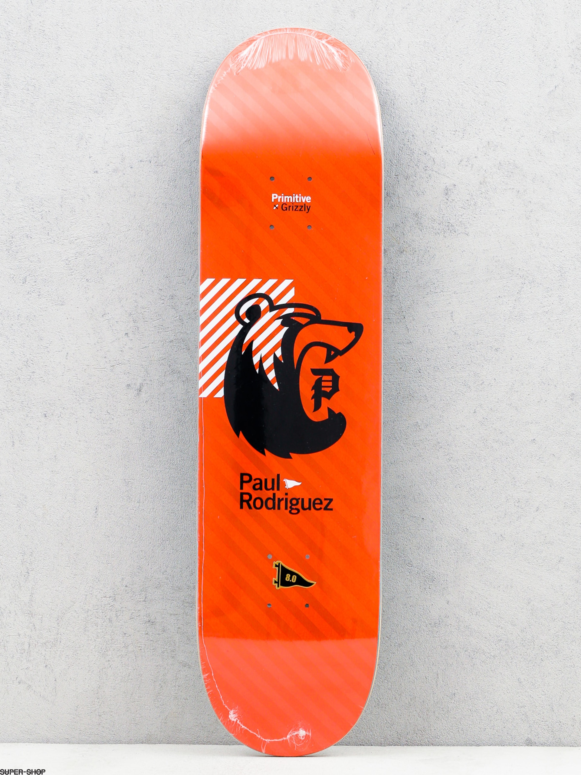 Primitive Deck x Grizzly Rodriguez Bearhaus (red)
