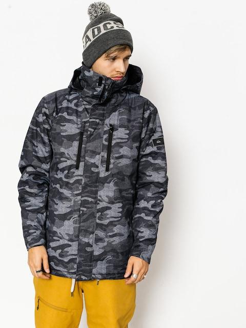 Quiksilver Snowboardjacke Mission Pr (black camokazi)
