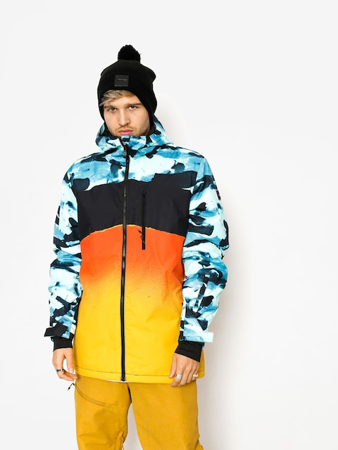 Quiksilver Snowboard jacket Mission Eng (cryptbloc resin camo)