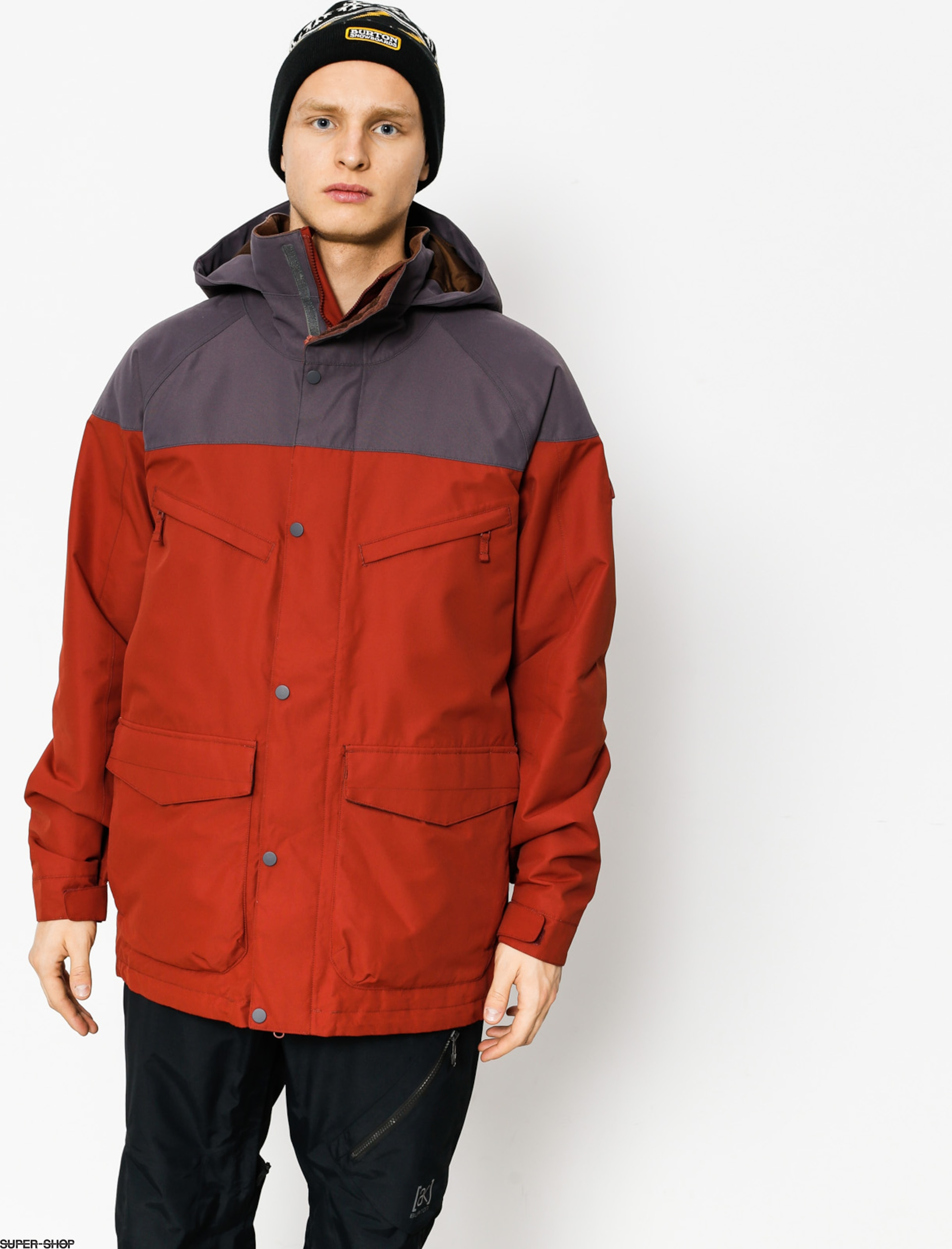 Burton Snowboardjacke Breach (frdbrk/faded)