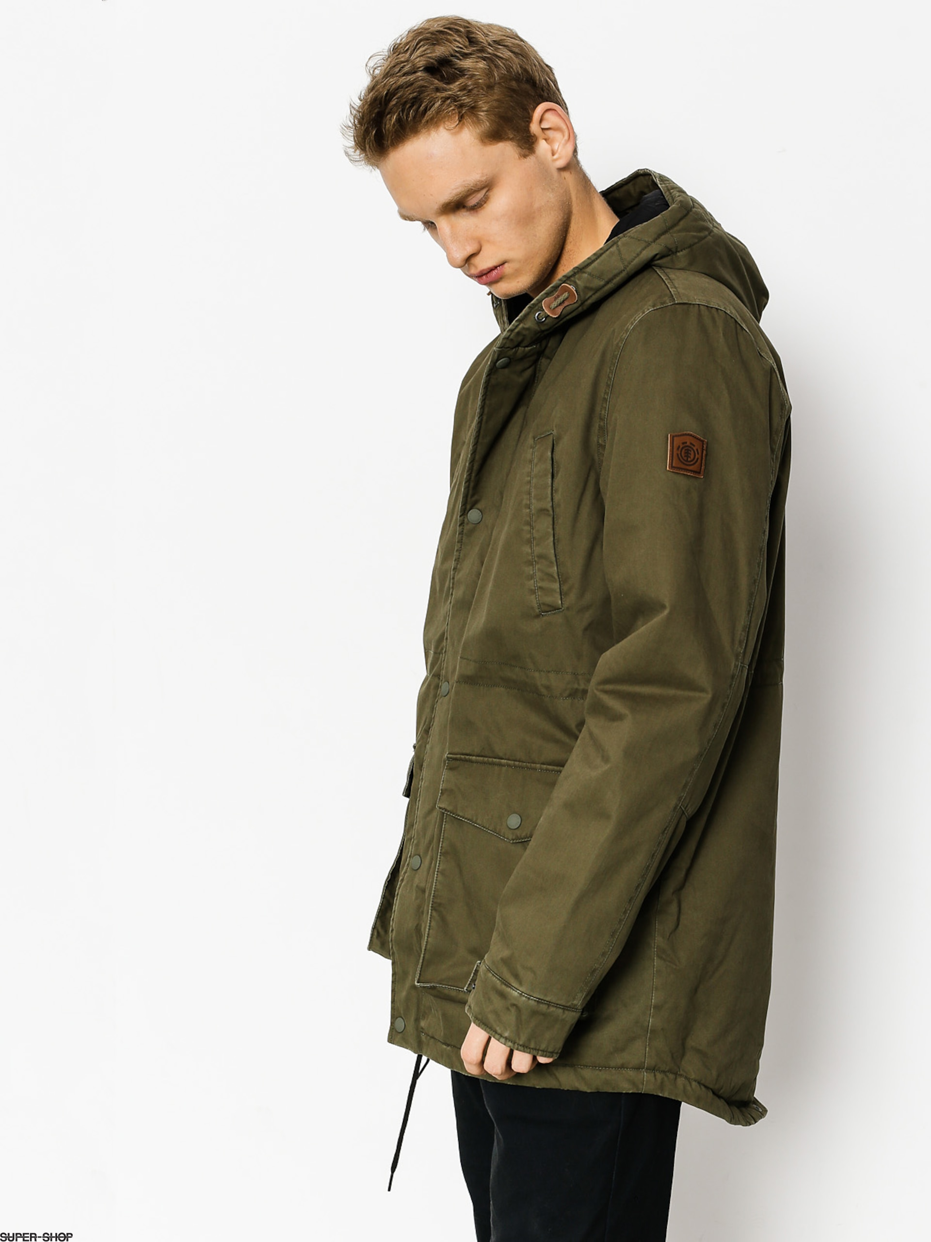 Element Jacke Roghan Plus (moss green)
