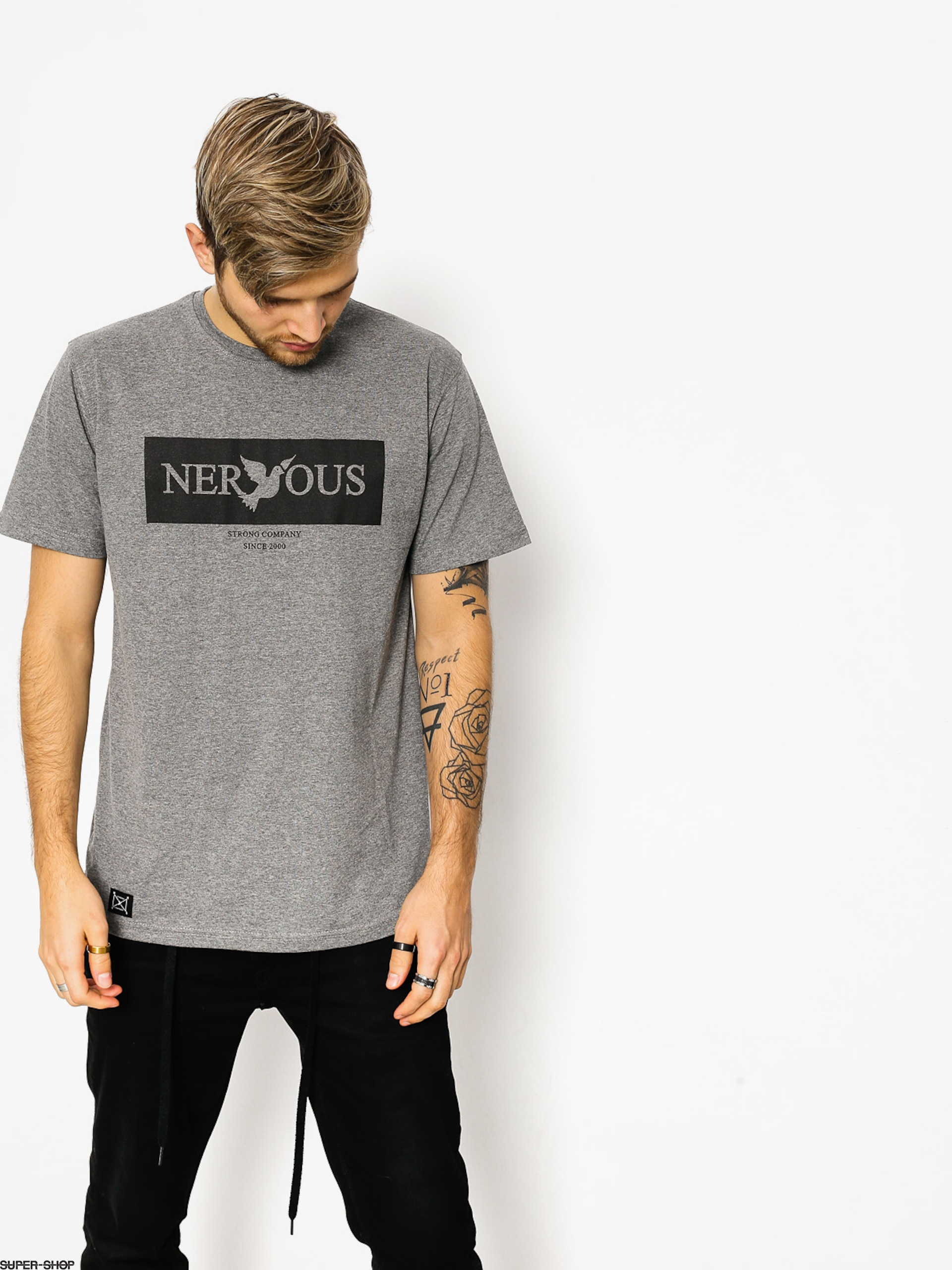 Nervous T-shirt Brand Box