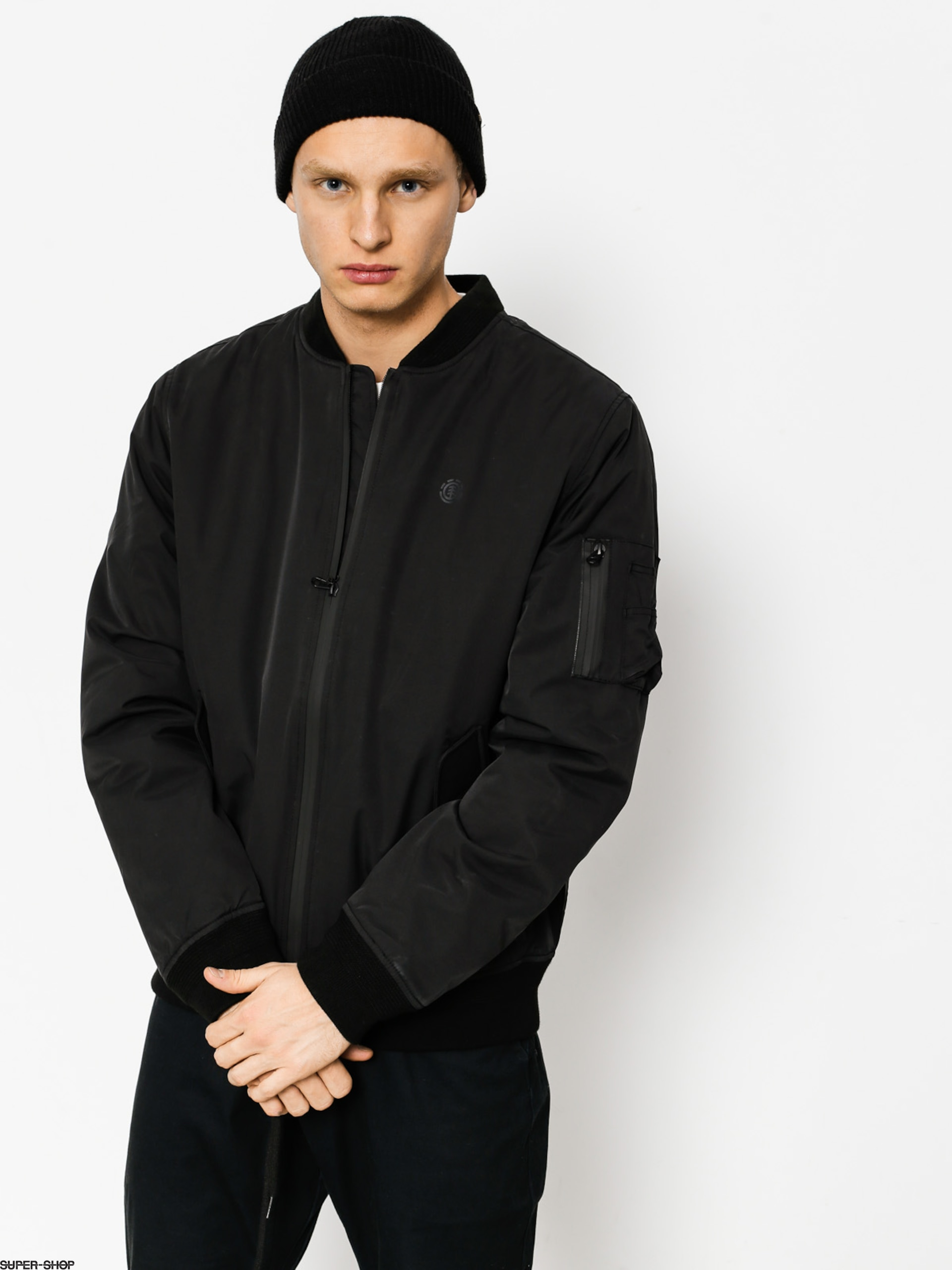 Element Jacke Dulcey Ma 1 (flint black)