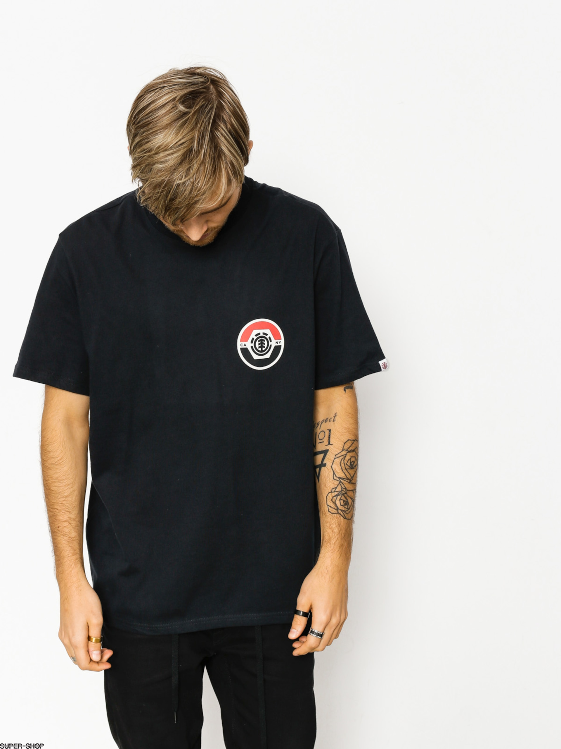 Element T-shirt Pivot (flint black)