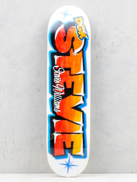 DGK Deck Airbrush Stevie (white/multi)