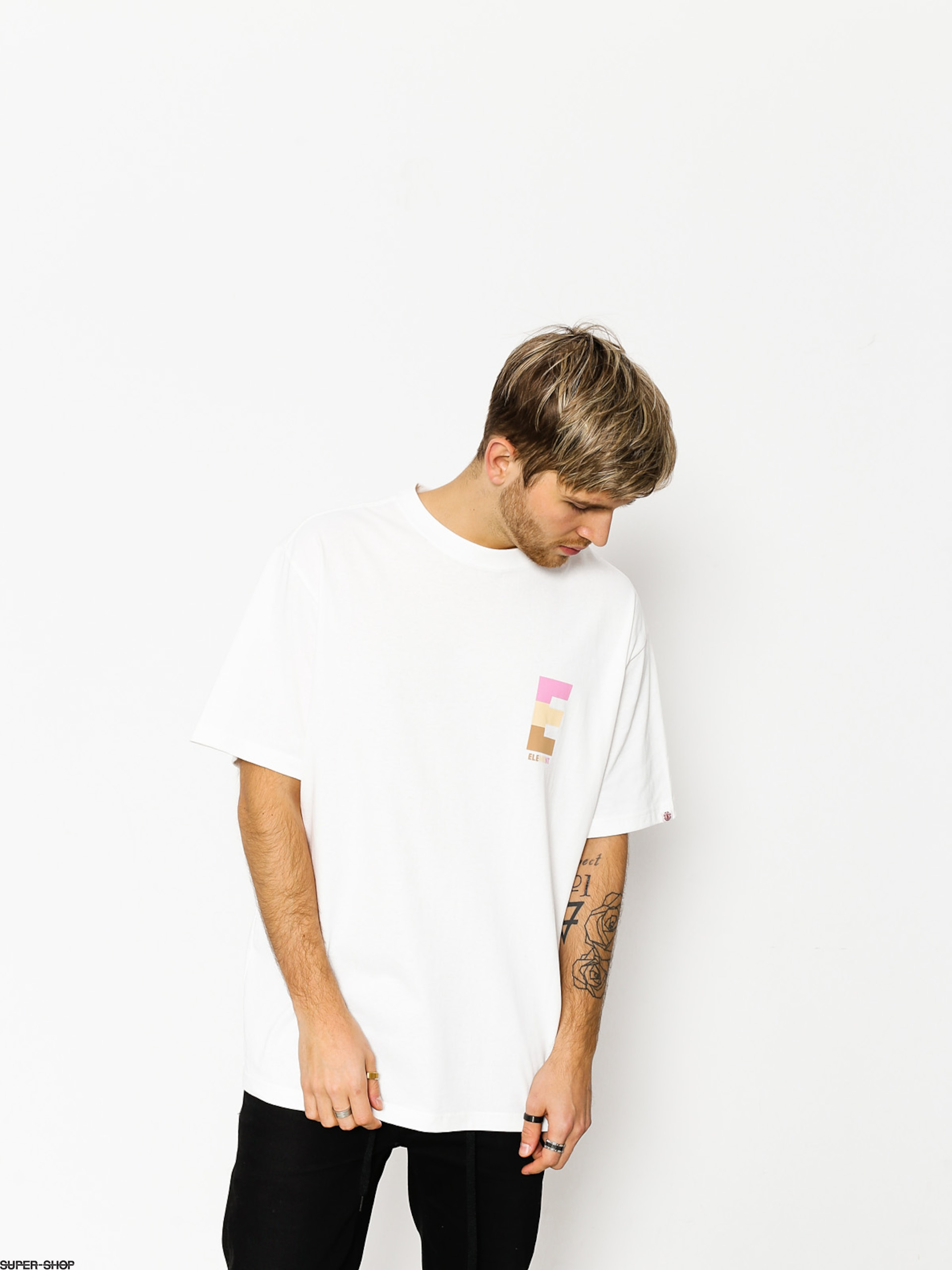 Element T-shirt Popsicle Ftm (optic white)