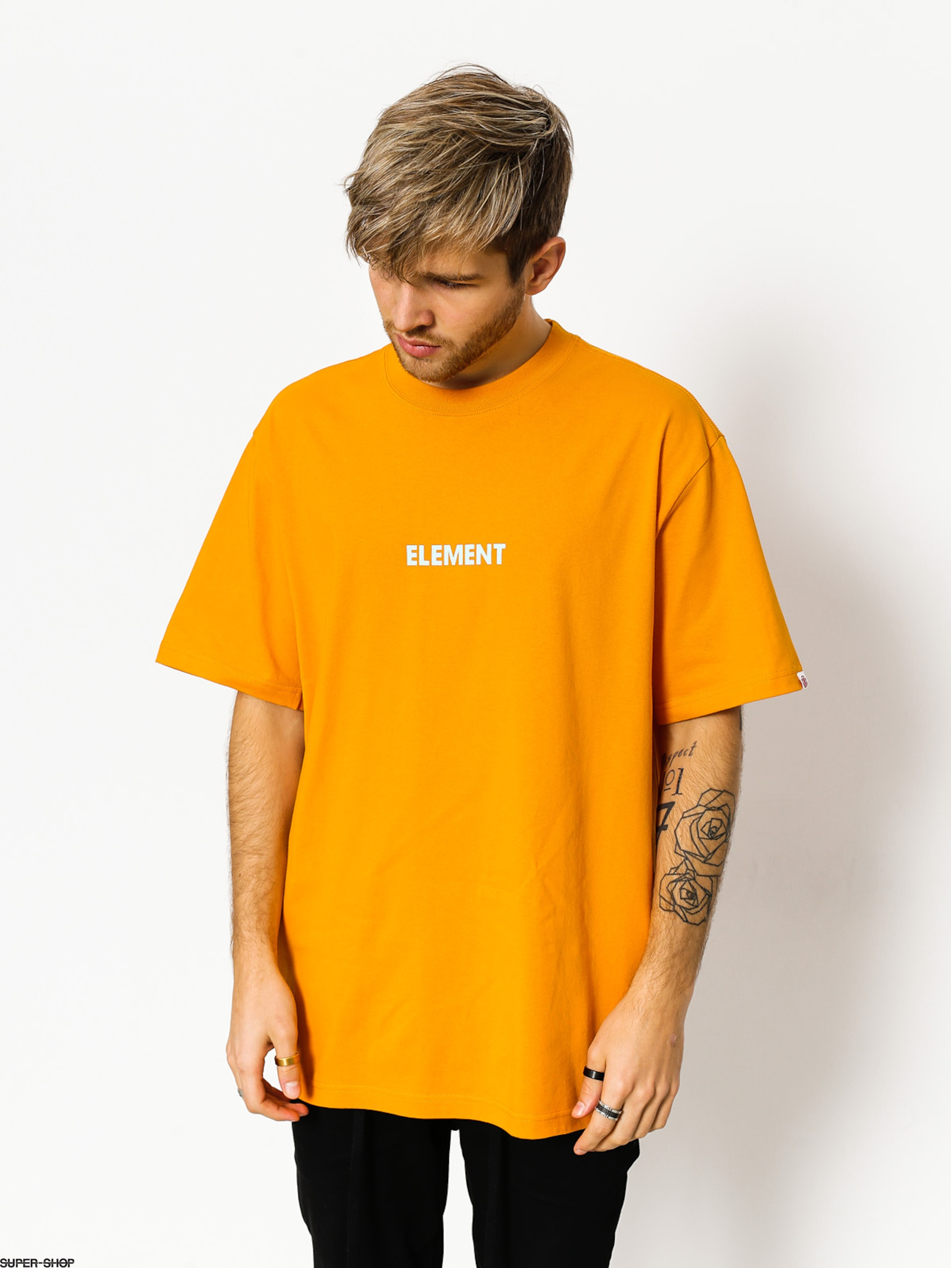 Element T-shirt Dazzle Icon Fill Ftm (dark cheddar)