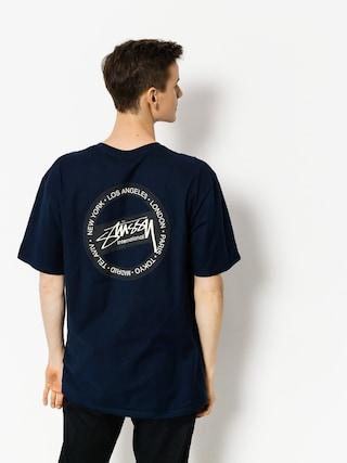 Stussy T-shirt International Dot (navy)