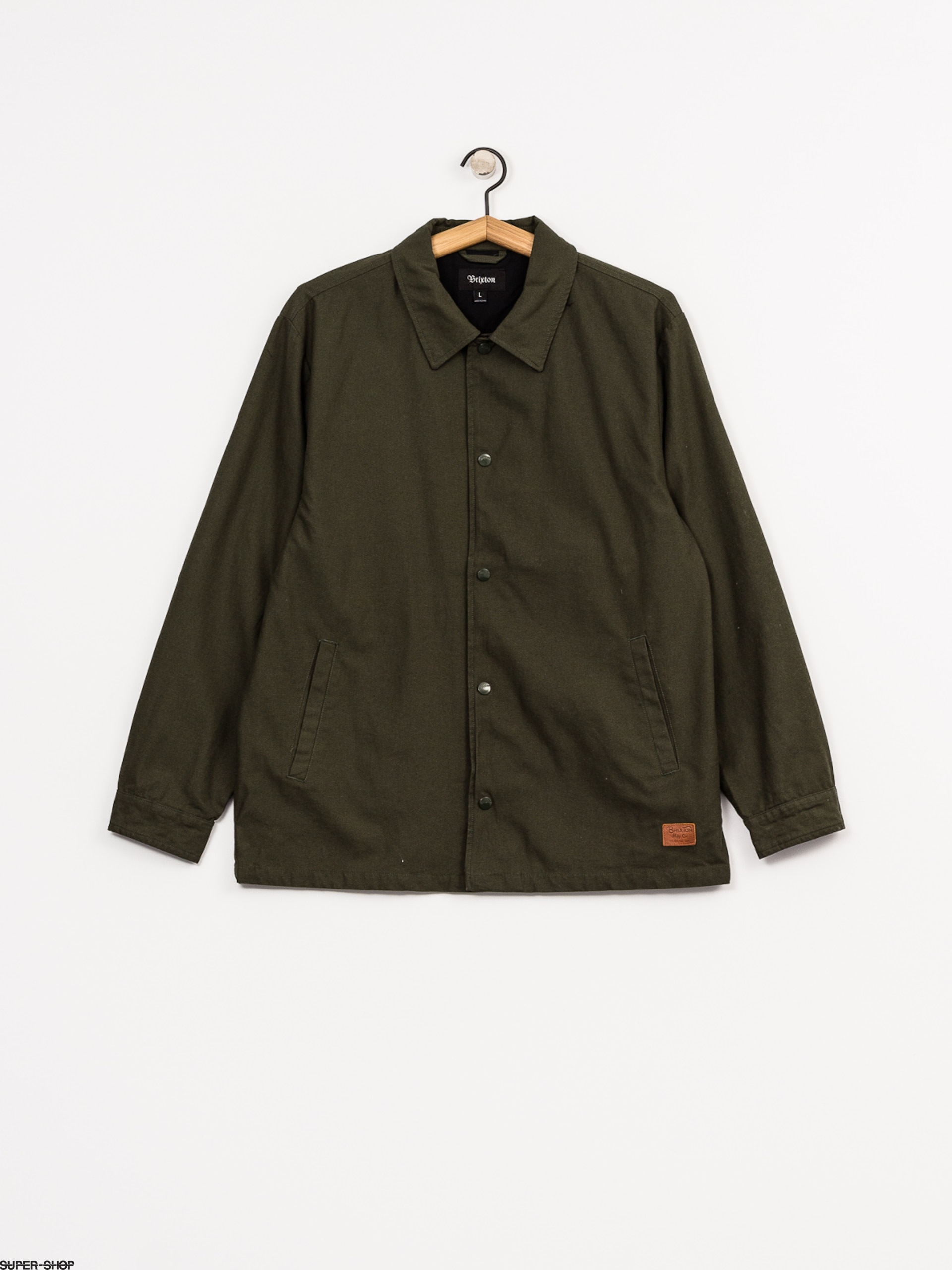 109b9b44685 Brixton Jacket Wright (forest green)