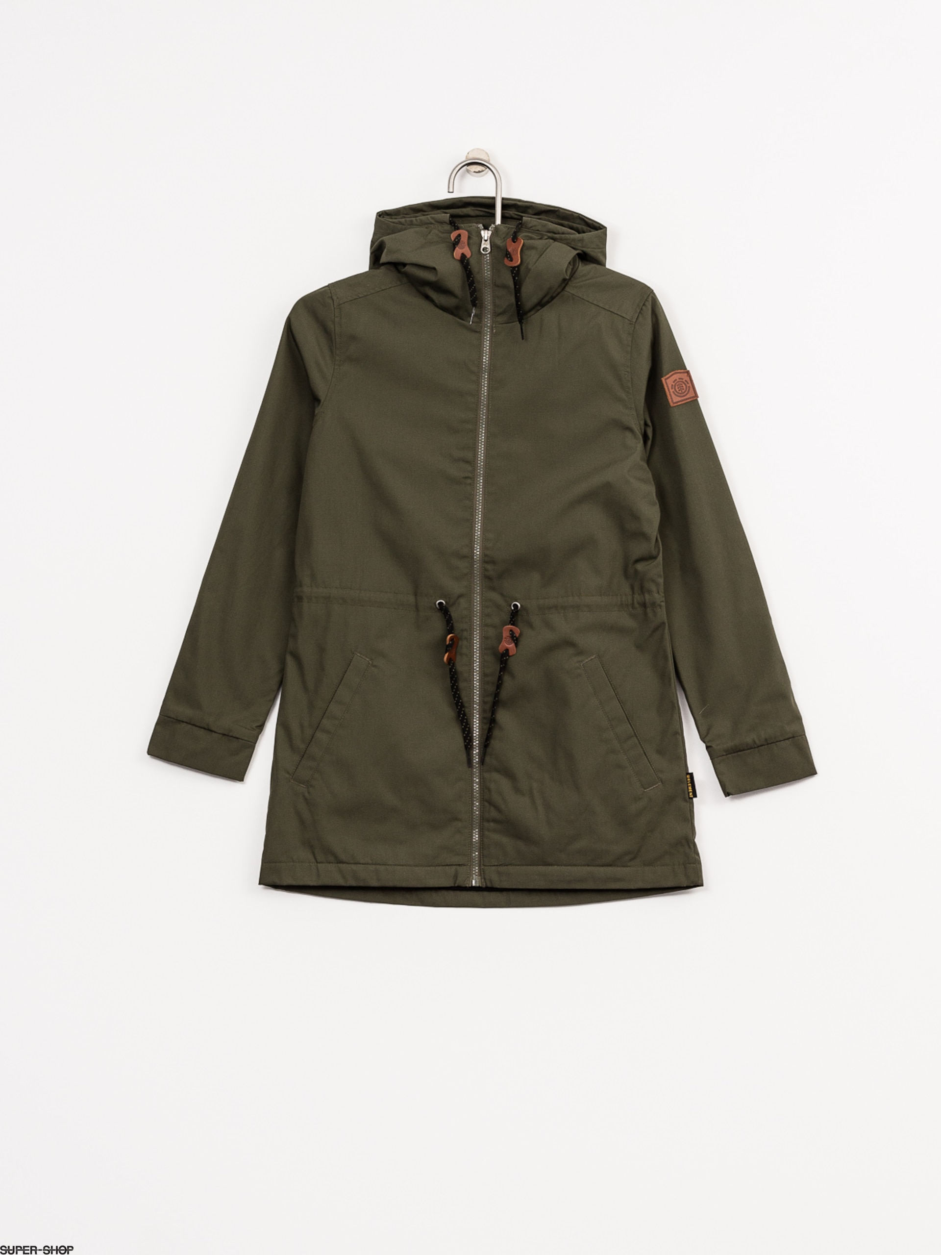 Element Jacket Wynn Wmn (moss green)