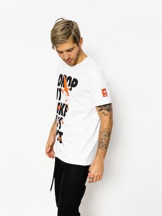 Diamante Wear T-shirt Drop It Like It Hot (white)