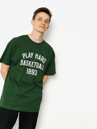 K1x T-shirt Play Hard Basketball (forest green)