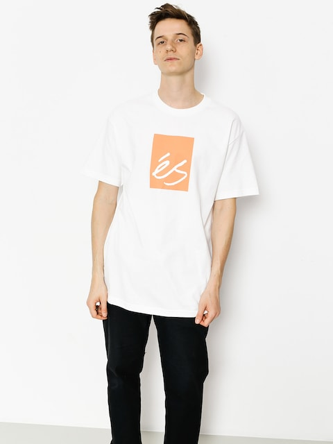 Es T-Shirt Main Block (white)