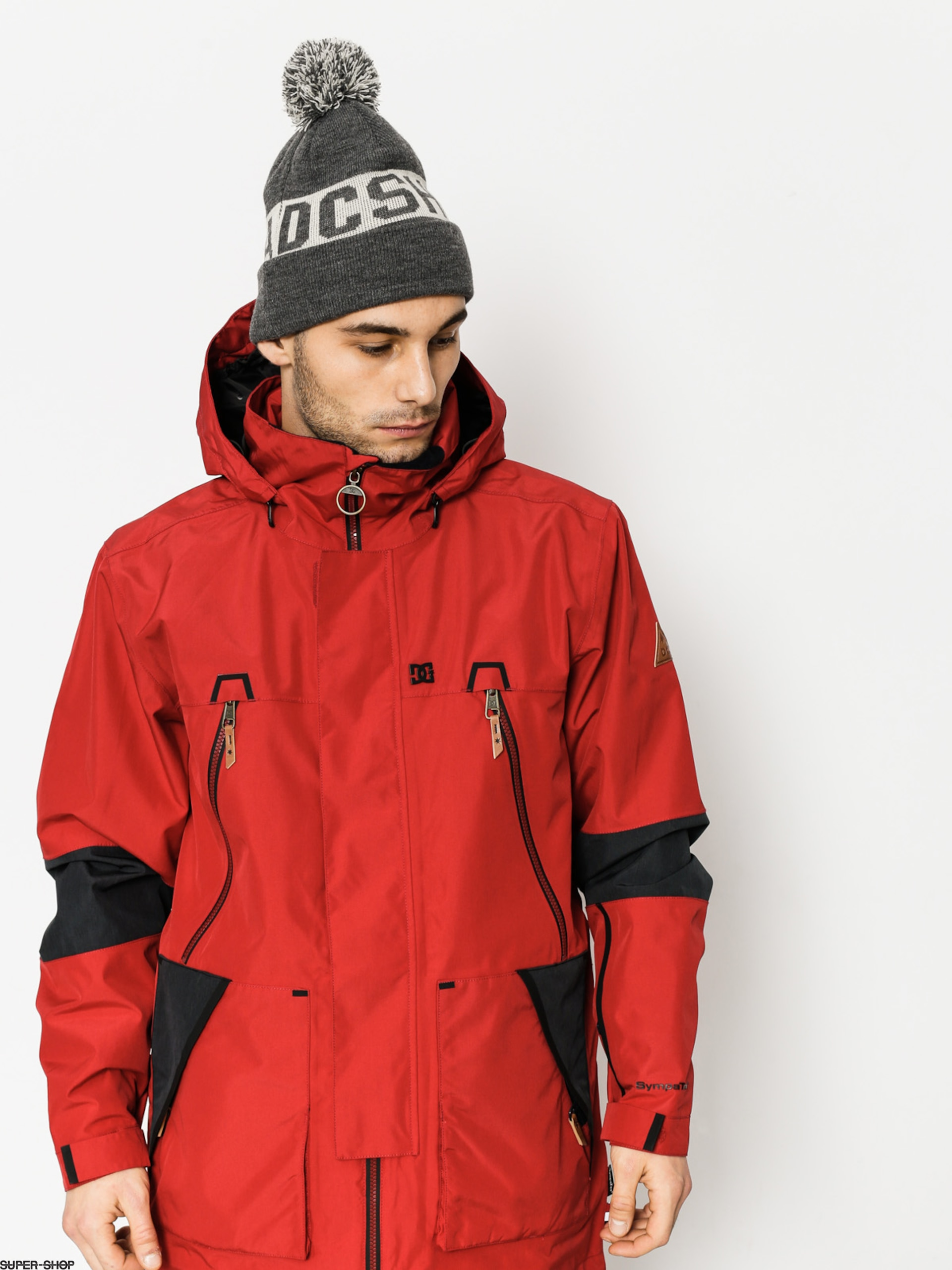DC Snowboardjacke Command (chili pepper)