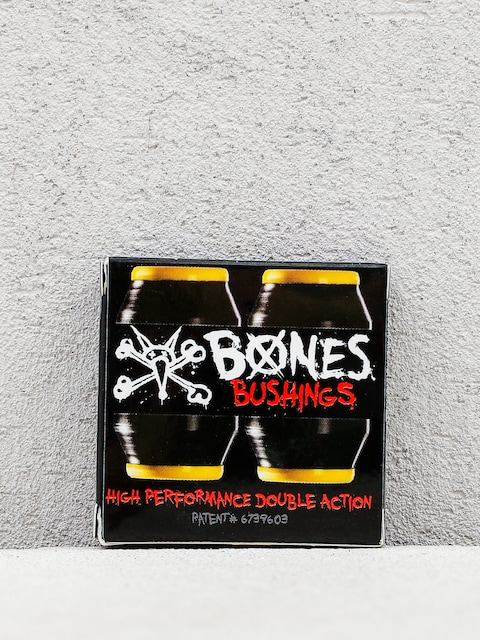 Bones Lenkgummis Bushings Medium (yellow/black)