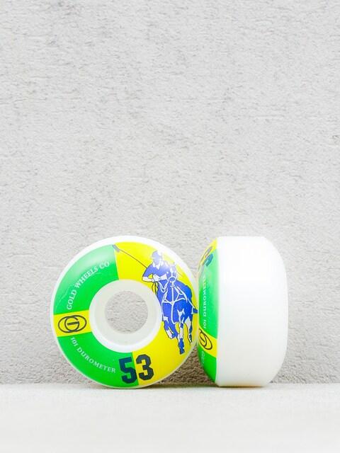 Gold Wheels Rollen Karat Club (white/green/yellow)