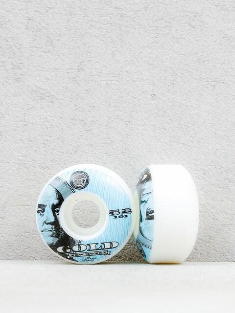 Gold Wheels Rollen New Money (white/blue)