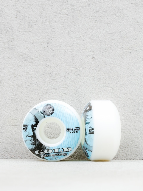 Gold Wheels Wheels New Money (white/blue)
