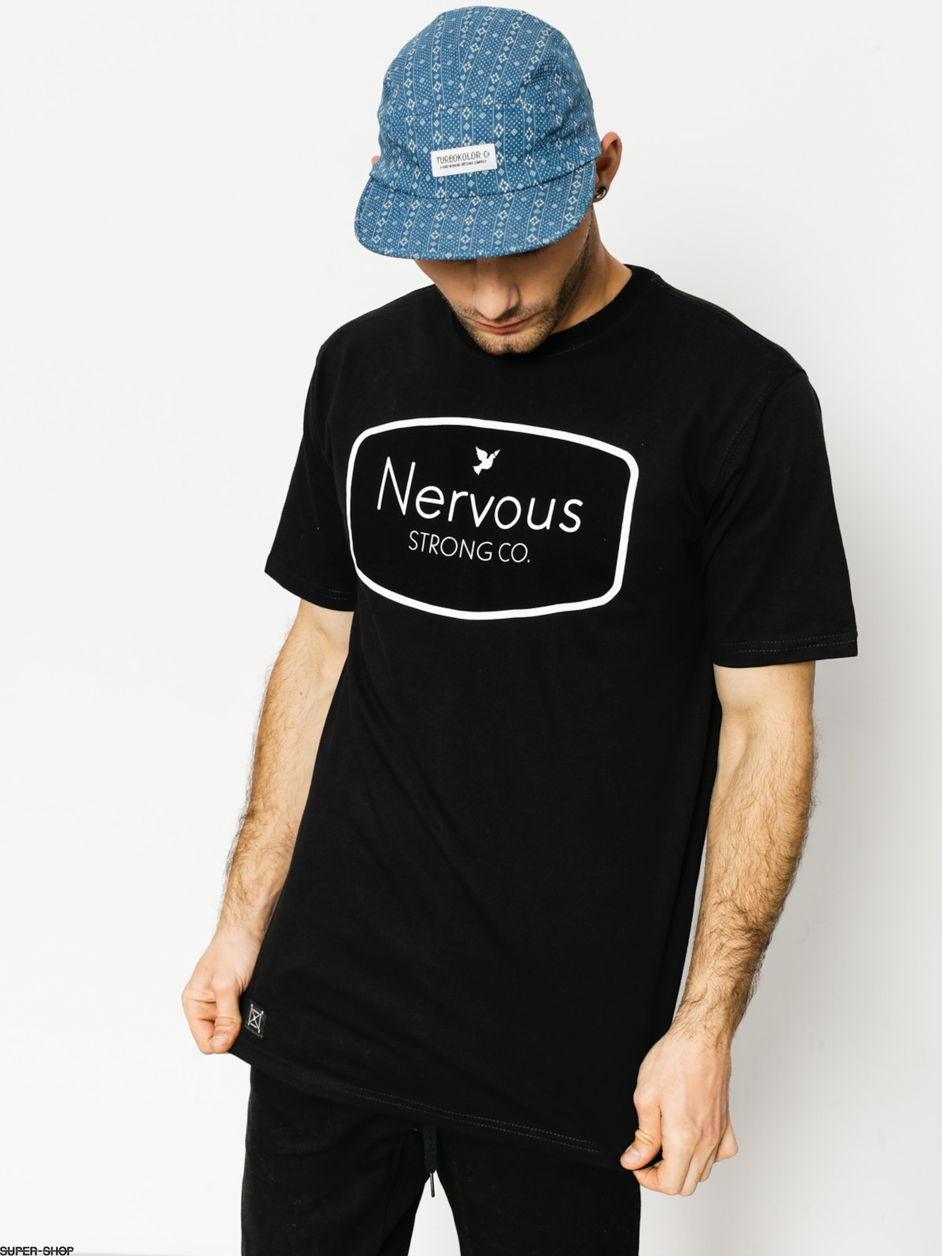 Nervous T-Shirt Ad (black)