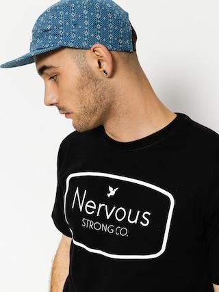 Nervous T-shirt Ad (black)