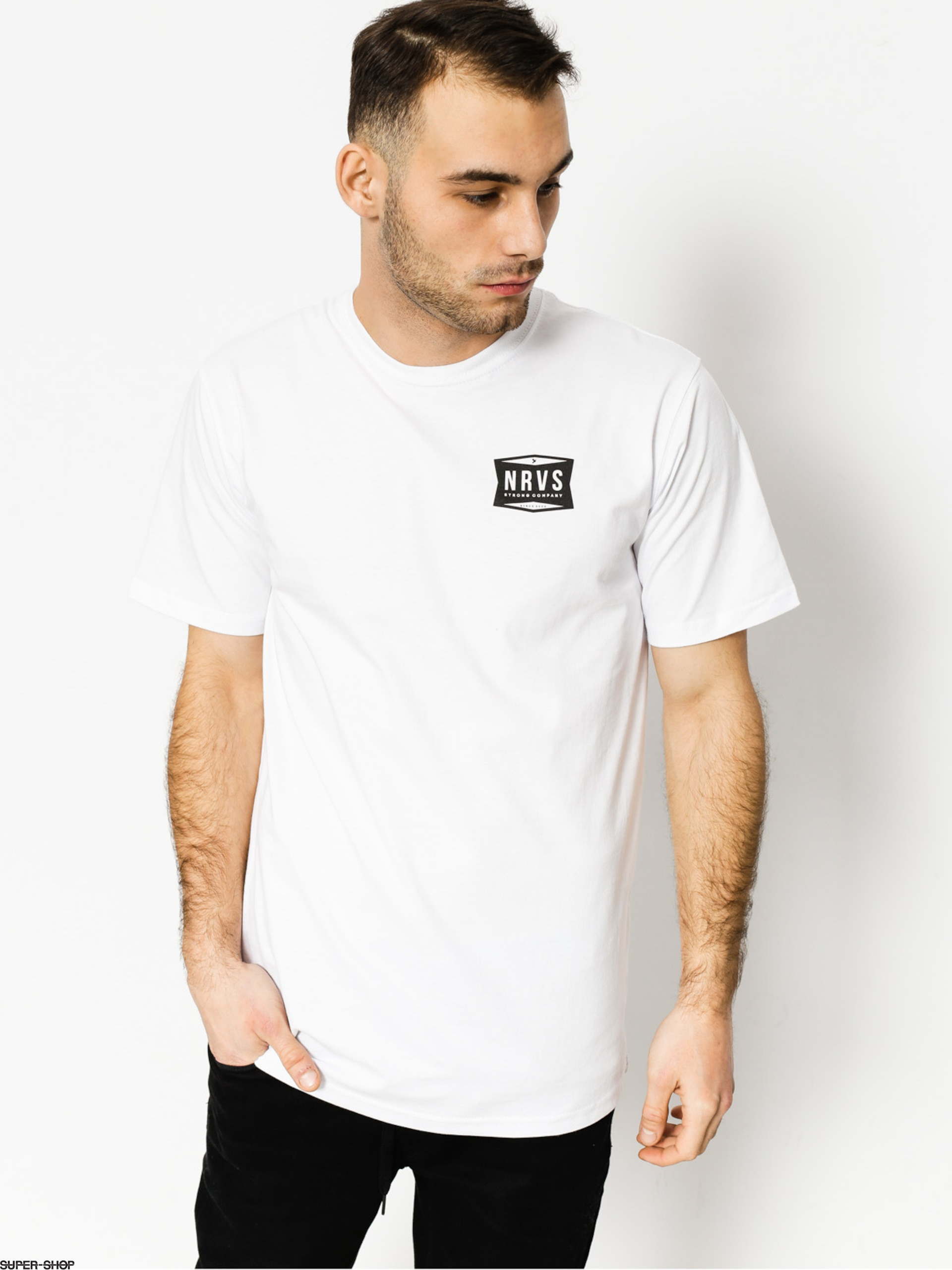 Nervous T-Shirt Shop (white)